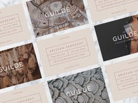The Guilde Business Cards