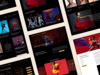 Dance Theatre of Harlem Website Design
