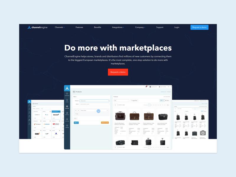 Do more with marketplaces cms ui shopping app e-commerce design web ux design e-commerce website
