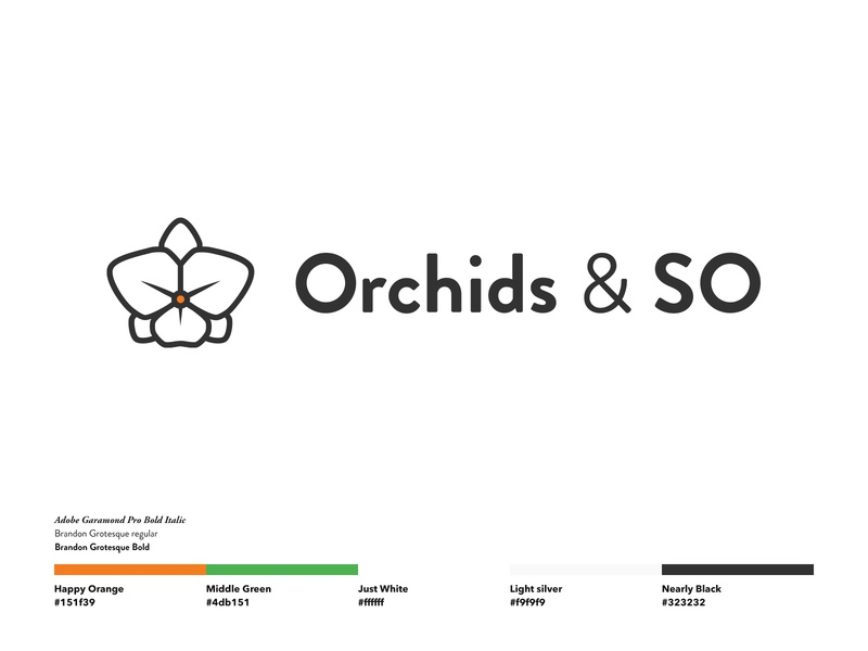 Orchids & So by Remco Dobronyi on Dribbble
