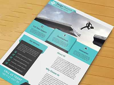 business flyer psd template free download by tahmid hasan dribbble