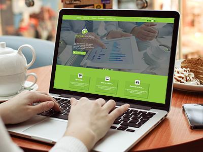 "Multipurpose UI Template Design for ""SYSCORP FINANCE""  Company"