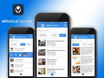 Medical - Mobile App UI Kit ios fla design personal app shop app shop blue app mobile psd psd template ui template mobile ui design app design mobile app
