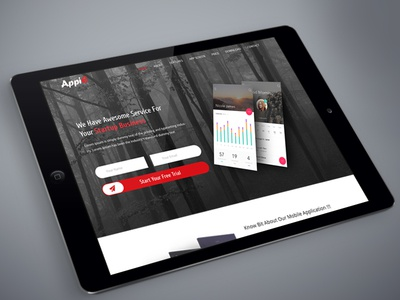 AppiE - App Landing Page (Redesign)