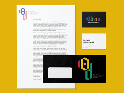 Personal Branding business card branding design logo stationery identity branding design