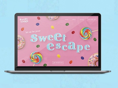 Sweet Tooth Website