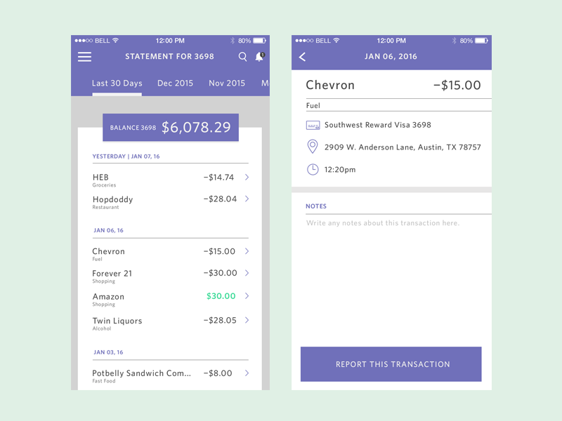Bank statement designs on dribbble bank statement thecheapjerseys Images