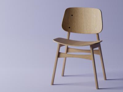 Starting in 3D - Chair Tutorial 3d søborg guru blender chair