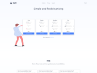 curv.io - Pricing page