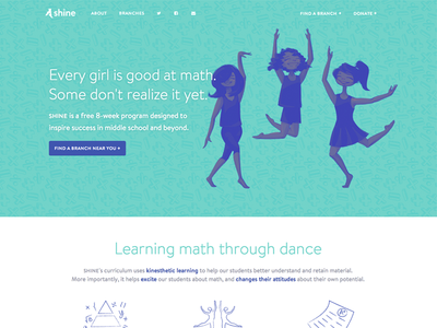 SHINE for Girls - Homepage