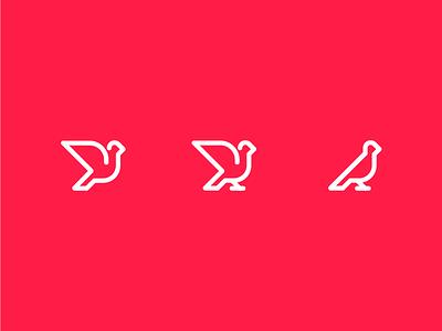 for the birds logo bird illustrator illustration vector line art icons