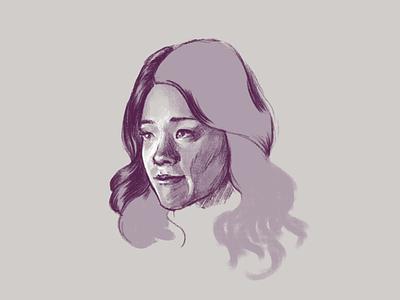 jane the virgin (wip) portrait kyle webster photoshop drawing illustration
