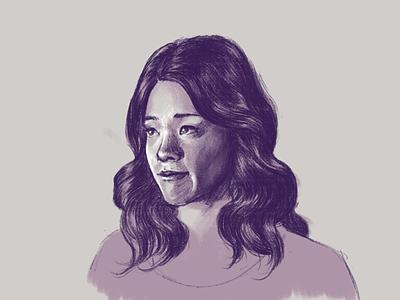jane the virgin (complete-ish) portrait kyle webster photoshop drawing art illustration