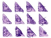 triangle shape study