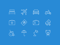Lonely Planet icons