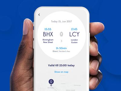 Mobility as a service ui transportation mobility map car app circle