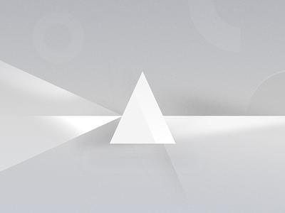 White Prism triangle prism