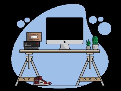 SneakerHead Desk