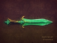 Glass Sword (SKYRIM FANART)