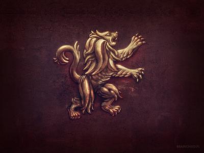 Lion Relief ( 2x )