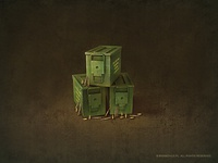 Ammo box (2x)