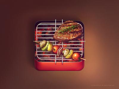 Grill iOS icon (2x)