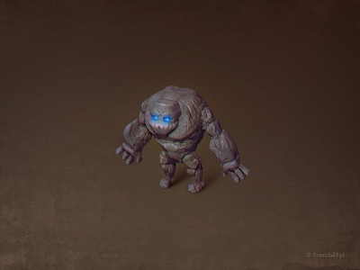 Golem (game unit) rafal urbanski rafał urbański brainchild brainchild.pl game item concept art ios icon ios unit icon designer game icon icon