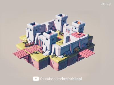 👑 Low Poly Game Art Blender to Unity 3d Low Poly Fortification low poly modeling blender modeling low poly art in blender game art in blender blender 2.8 blender blender 3d game castle 3d fortification 3d fort 3d castle modular asset modular wall modular castle lowpoly3d 3d low poly low poly game art low poly blender to unity