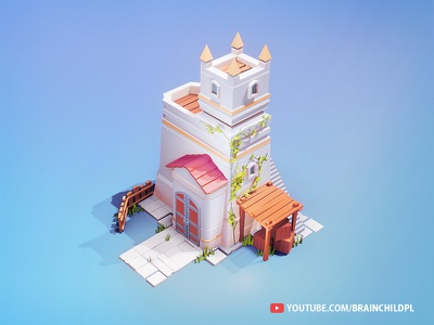 [Work in Progress] Low Poly CASTLE Blender 2.90 | 3d ART fort walls wood low polygon low poly art low poly building tower 3d modeling 3d game building game building low poly lowpoly game art blender art blender 3d blender 2.90 b3d 3d low poly 3d artist 3d art