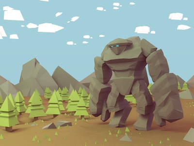 The Golem in the forest :)