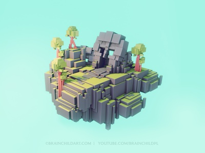 LOWPOLY Worlds | Flat Shading | Concept | Environment cube worlds blender speed modeling 3d game model 3d game 3d model 3d 3d artwork 3d artist blender3d blender 3d b3d tutorial blender modeling 3d modeling low poly lowpoly3d lowpolyart 3d art lowpoly