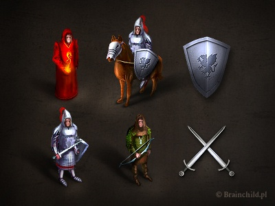 Icons for a rts/rpg game