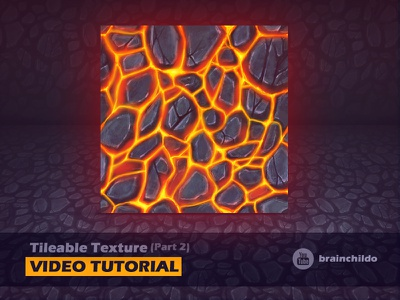 [Tutorial] How to paint seamless lava texture / Part 2 game lava how to tips photoshop texture seamless tileable tutorial