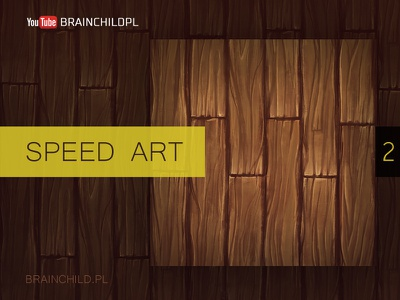 [Speed art #2] Painting a tileable wood texture in Photoshop. video youtube speed speed art brown photoshop tileable texture seamless texture wooden wood texture