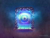 The Magic eye in the magic window