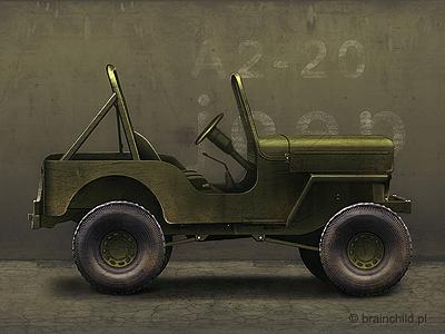 Army Jeep brainchild town building car icon jeep icon game icon game design brainchild.pl icon set icon game icons icons car jeep army military vehicle auto