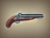 some old gun
