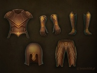 the first armor set for a game