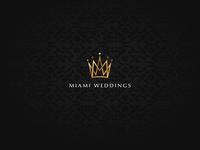 Miami Wedding Logo Design