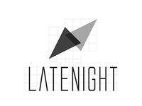 LateNight logo concept