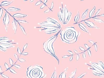 Floral Pattern Illustration floral pattern pattern pattern design illustration art flower design floral illustration illuminated