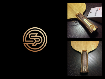 OSP osp rokac design branding blade racket pingpong emblem monogram symbol logo table tennis