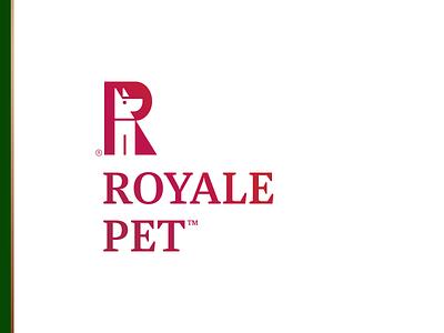 RP animal negative space walking accesories food branding logodesign logo symbol dog logo dog pet royal