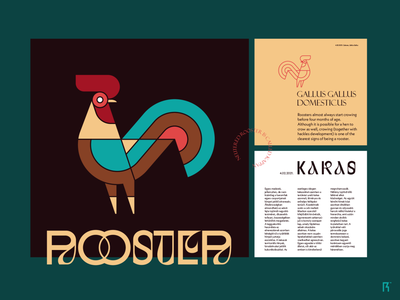 Kakas fiverr ui layout typogaphy branding logo rooster