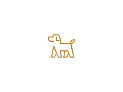 Hawt Dawg proud walking retriver custom dog icon symbol puppet animal art puppy logo dog