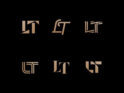 LT Monogram rokac minimal modern branding logotype symbol monogram tl logo lt