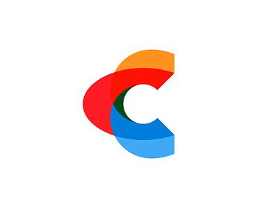 C rokac branding logodesign minimal modern letterc elipse count letter symbol logo c