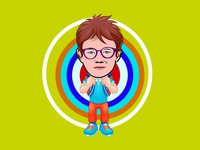 I will draw caricature icon cartoon portrait with vector body