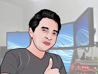Cool Cartoon portrait