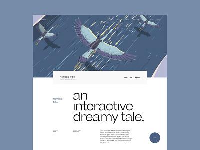 makemepulse website - Case study page project webdesign nomadic tribe website design layout type